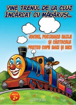 Vine trenul de la Cluj, incarcat cu magarusi…
