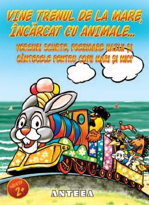 Vine trenul de la mare, incarcat cu animale…