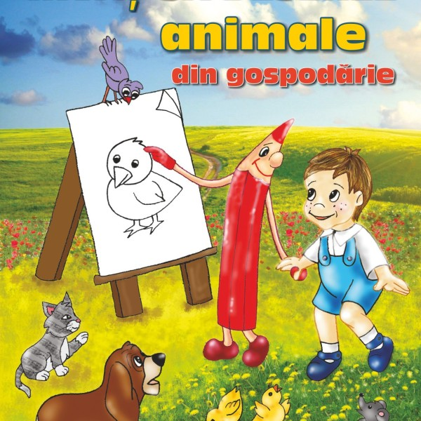Invat sa desenez animale din gospodarie PT WEB